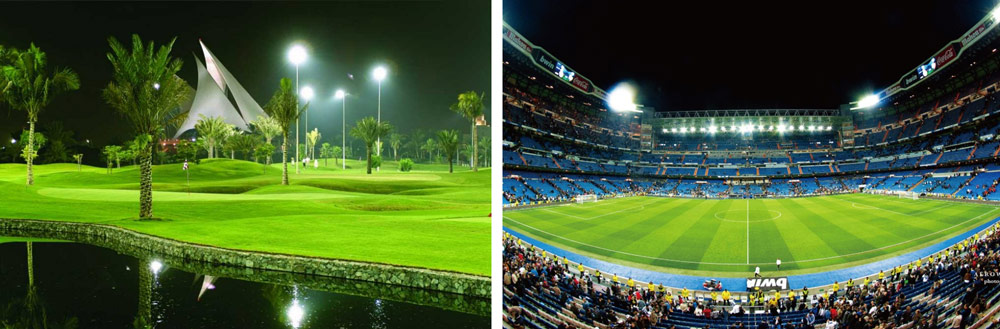 led-flood-lights-for-golf-course-and-football-field