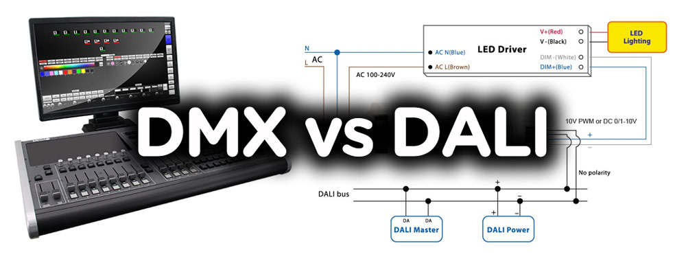 Dmx Vs Dali Lighting Control High Mast Light Pole Ledstadium
