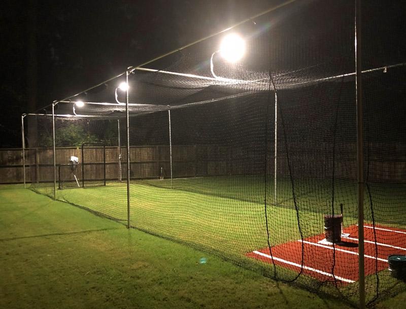 led-lighting-for-backyard-batting-cage