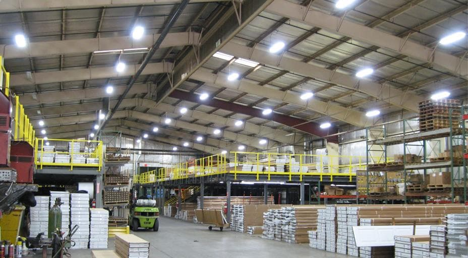 Energy Efficient Led Warehouse Lighting And Factory Lights